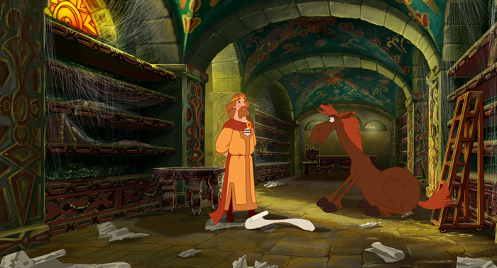 «Три Богатыря И Шамаханская Царица Мультфильм Часть 2» — 2005